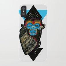 Color me Monkey iPhone X Slim Case