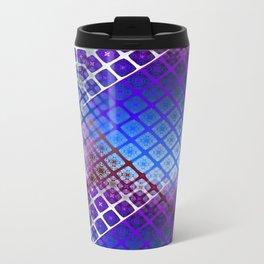 Place 2B Pattern (Nightclub Ultrablue) Travel Mug