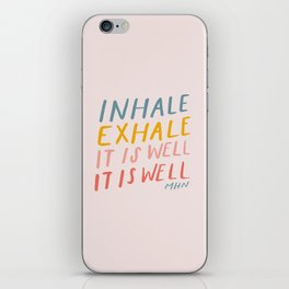 It Is Well iPhone Skin