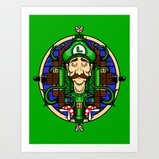 Luigi's Lament Art Print