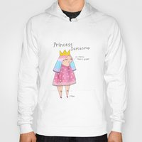 rubyetc Hoodies featuring princess sarcasmo by rubyetc