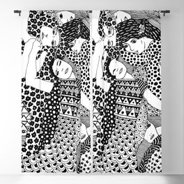 Gustav Klimt - The Virgin Blackout Curtain
