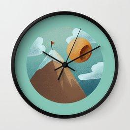 World in a Circle : Triumph Wall Clock