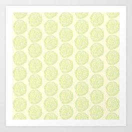 Cabbage Cuties Art Print