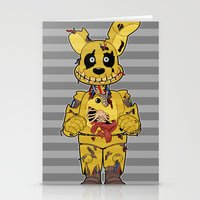 fnaf Stationery Cards featuring Poor Little Souls by FrankenPup