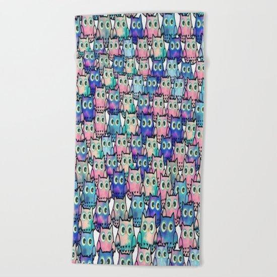 owl-49 Beach Towel