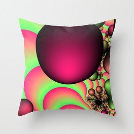 Sour Apples Throw Pillow