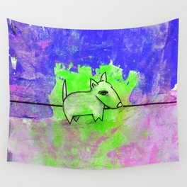 Dog No.1d by Kathy Morton Stanion Wall Tapestry