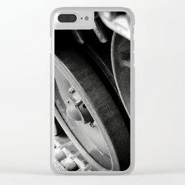 Tank Wheels Clear iPhone Case