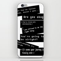 journey iPhone & iPod Skins featuring Journey by writingoverashes