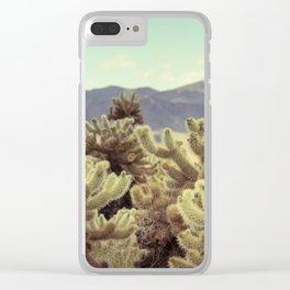 Super Bloom Cactus 7380 Clear iPhone Case