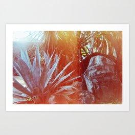 Nature life Art Print