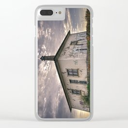 Old House Clear iPhone Case