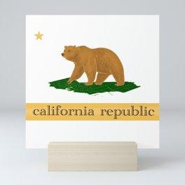 California Republic Mini Art Print