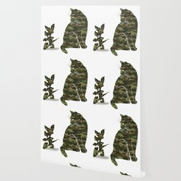 Cute Cat and Mouse T-Shirt - Meow Cats Mouse Camouflage Tee Wallpaper