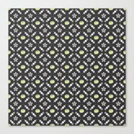 Hanami Nummies   Black Matcha Canvas Print