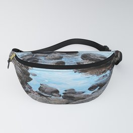 Fantasy Secret Cove By Magical Blue Ocean Fanny Pack