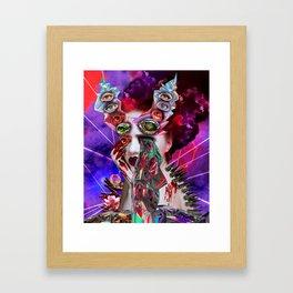 Malibu Moans Framed Art Print