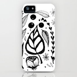 Gamine iPhone Case