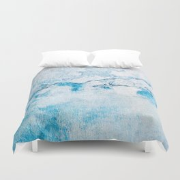 blue wall Duvet Cover