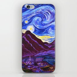 Maui Starry Night iPhone Skin