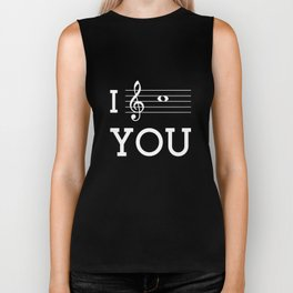 I see you (dark colors) Biker Tank