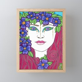 Antheia Framed Mini Art Print