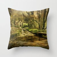 ford Throw Pillows featuring Hunworth Ford by J Coe Photography