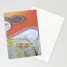 Wear your heart Stationery Cards