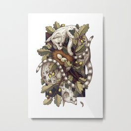 Spades Metal Print