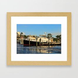 Shoreline in Fort Myers IV Framed Art Print