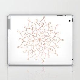 Mandala Rose Gold Pink Star Laptop & iPad Skin