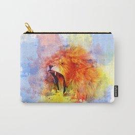 African Lion Pop Art wall Art Carry-All Pouch