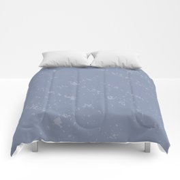 Powdered Blue Comforters