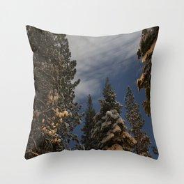 Tahoe Night Sky  Throw Pillow