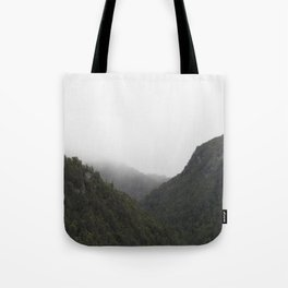 The Misty Mountains Call Tote Bag