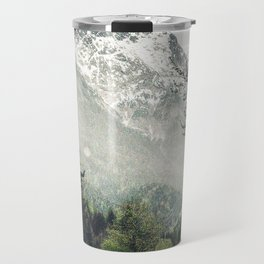 Down the Road - Mountains, Forest, Austria Travel Mug