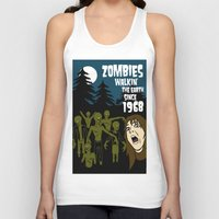 the walking dead Tank Tops featuring Walking Dead by grawiton