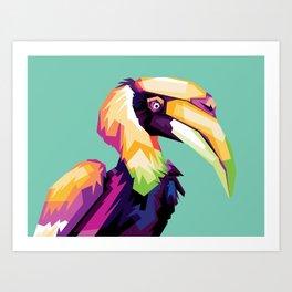 Bird Colorfull Art Print