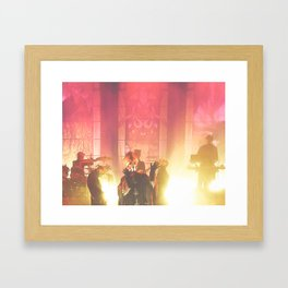 Secular Haze. Framed Art Print