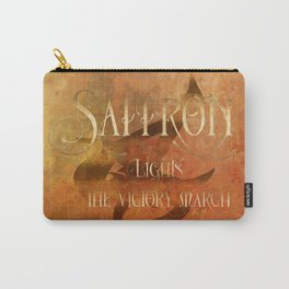 SAFFRON lights the victory march. Shadowhunter Children's Rhyme. Carry-All Pouch