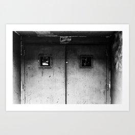 Closed Door Art Print