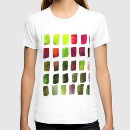 Brushstrokes 1za by Kathy Morton Stanion T-shirt