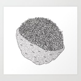 Nerved Art Print