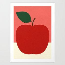 Rosi Feist – Red Apple Art Print