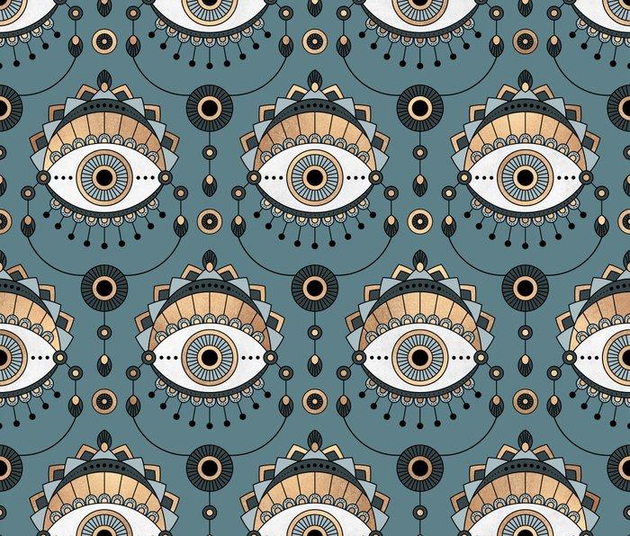 Eye Pattern 1 Metal Travel Mug