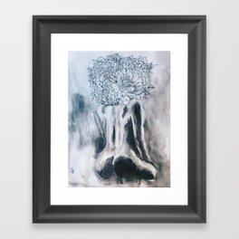 Grace and Booty Framed Art Print