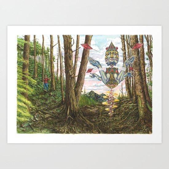 The Woods by jake-lockett