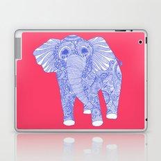 ornate Ellie in blue Laptop & iPad Skin