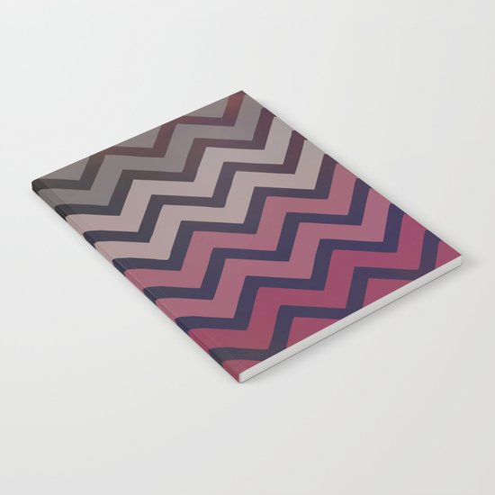 Pink Chevron Notebook
